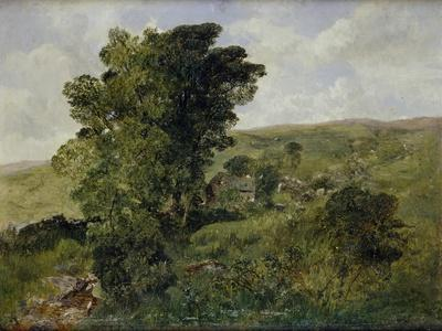 View of Nantlle, Caernarvonshire, 1855