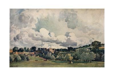 'Ludlow Castle', c1880