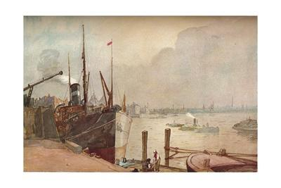 On the Thames, c1876-1903, (1903)