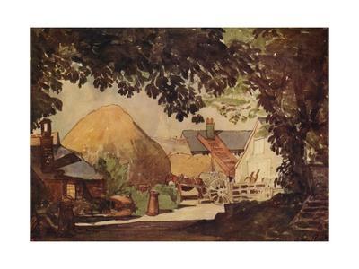 'The Farmyard', c1915