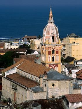 Overhead of Cartagena Cathedral Tower, Cartagena, Colombia by Alfredo Maiquez