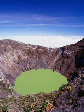 Principal Crater of Volcanic Area, Irazu Volcano National Park, Costa Rica by Alfredo Maiquez