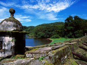 Rusting Cannons and Battlements, Low Battery of San Fernando Fort (1753), Portobelo, Panama by Alfredo Maiquez