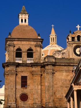 San Pedro Claver in Cartagena De Indias, Cartagena, Colombia by Alfredo Maiquez