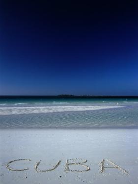 White Sand Beach at Cayo Coco Keys, Ciego De Avila, Cuba by Alfredo Maiquez