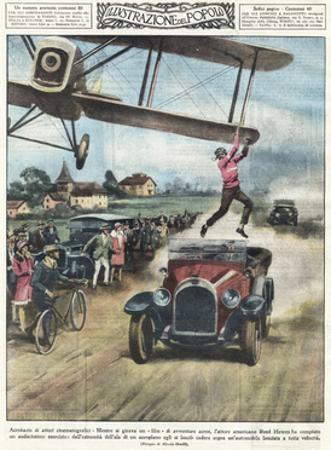 From Plane to Car 1928
