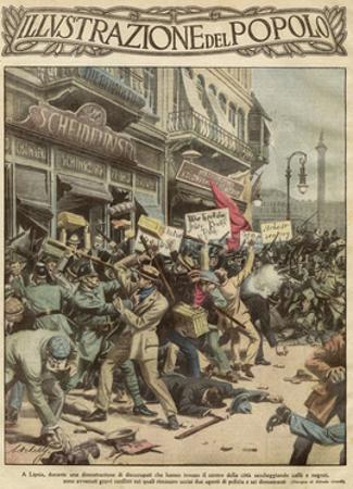 Looting in Leipzig, 1923