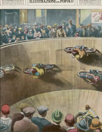 """On This London """"Wall of Death"""" the Riders are Travelling Parallel to the Ground"""
