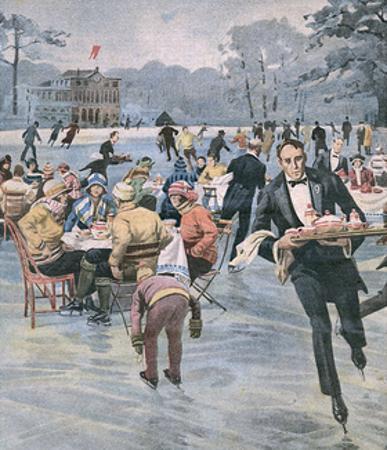 Skating Dutch Waiter