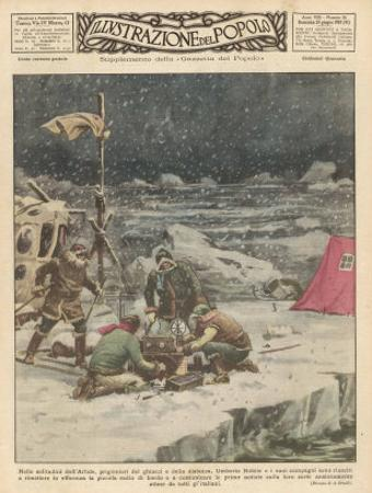 """Umberto Nobile Flew the Airship """"Norge"""" Over the North Pole in 1926"""