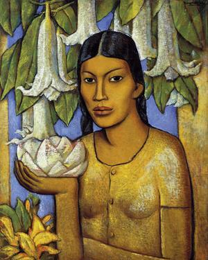 La India de las Floripondias by Alfredo Ramos Martinez