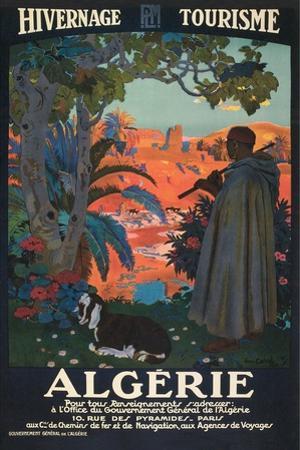 Algeria Travel Poster