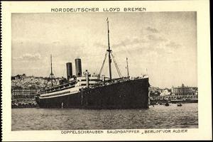 Algier, Norddeutscher Lloyd Bremen, Dampfer Berlin