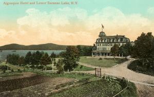 Algonquin Hotel, Lower Saranac Lake, New York