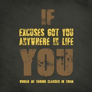 Excuses by ALI Chris