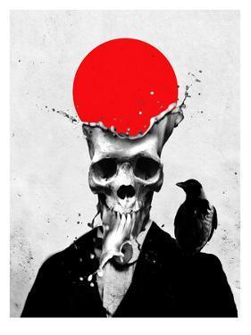 Splash Skull by Ali Gulec