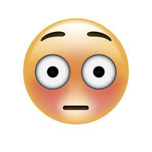 Emoji Big Eye Shock by Ali Lynne