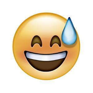 Emoji Big Smile Sweat by Ali Lynne