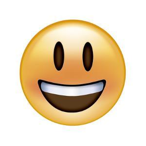 Emoji Big Smile by Ali Lynne