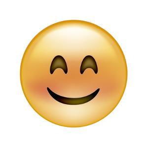 Emoji Crescent Eye Smile by Ali Lynne