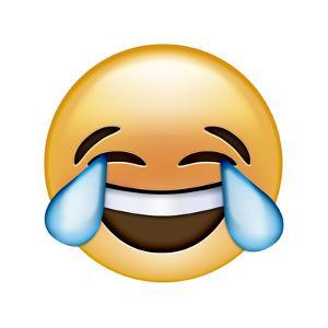 Emoji Cry Laugh by Ali Lynne