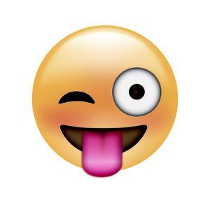 Emoji One Eye by Ali Lynne