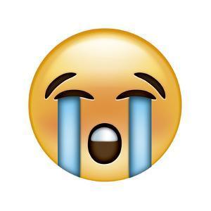 Emoji River Tears by Ali Lynne