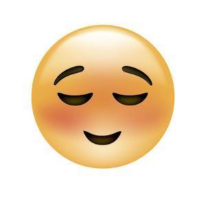 Emoji Small Smile by Ali Lynne
