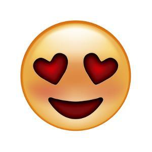 Emoji Smile Heart by Ali Lynne