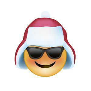 Emoji Sun Glasses Trapper hat by Ali Lynne