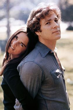 "Ali Macgraw; Ryan O'Neal. ""Love Story"" [1970], Directed by Arthur Hiller."