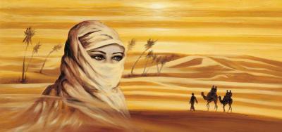Caravan I by Ali Mansur