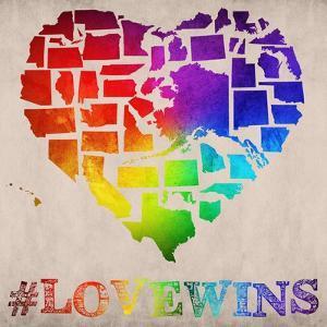 Love Wins Map by Ali Potman