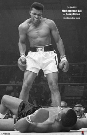 Ali vs Liston Black and White