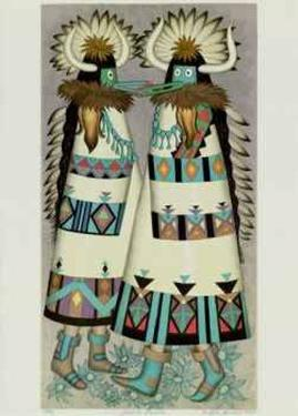 Shalako Dancer by Alice Asmar