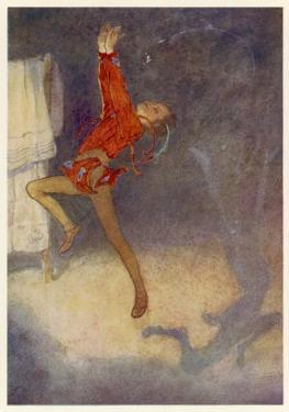 Peter Pan Dances with His Shadow by Alice B. Woodward