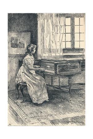 'Illustration to John Halifax, Gentleman', c1897