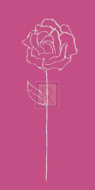 Romantic Rose I by Alice Buckingham