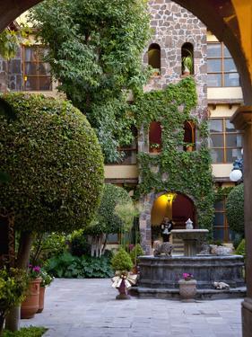 Courtyard, San Miguel De Allende, Mexico by Alice Garland