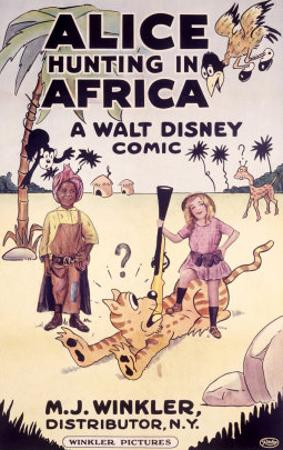 Alice Hunting in Africa, a Walt Disney Comic