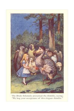 Alice in Wonderland, Caucus Race