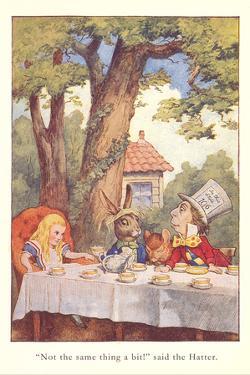 Alice in Wonderland, Mad Tea Party