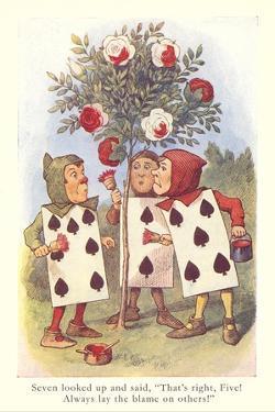 Alice in Wonderland, Painting Roses
