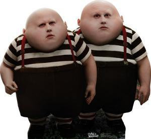 Alice In Wonderland - Tweedle Dee and Tweedle Dum