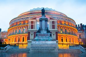 The Royal Albert Hall, Opera Theater, in London, England, UK by alice-photo