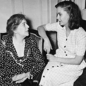 Alice Roosevelt Longworth with Her Daughter, 19 Year Old Paulina Longworth