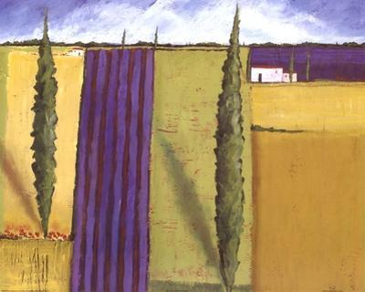 Lavender Field I by Alicia Beachman