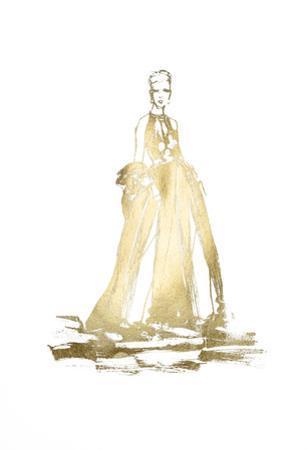 Gold Foil Fashion by Alicia Ludwig