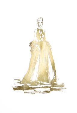 Gold Foil Fashion by Alicia Ludwig