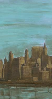 Manhattan Triptych II by Alicia Ludwig